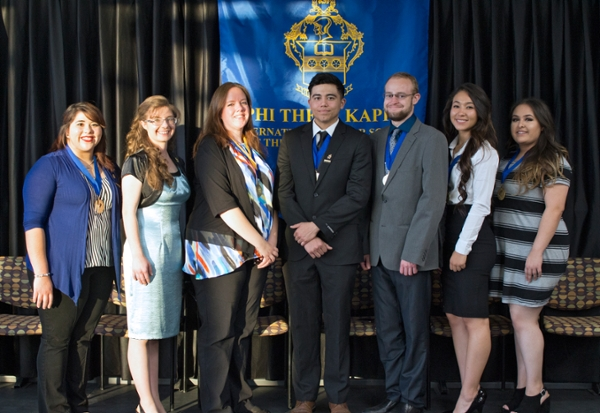 PTK Induction Ceremony 2016