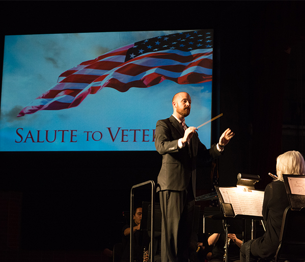 Salute to Veterans Band Concert