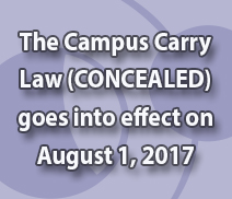 Campus Carry Law goes into effect Aug. 1