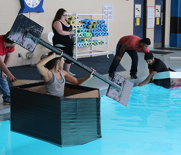 Engineering Cardboard Boat Competition