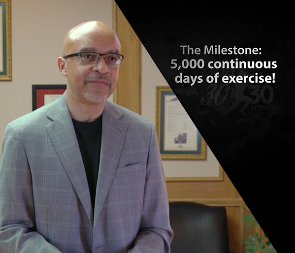 Milestone 5,000 Days - Dr. Gregory D. Williams
