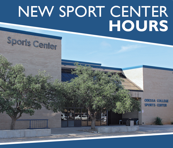 New Sports Center Hours