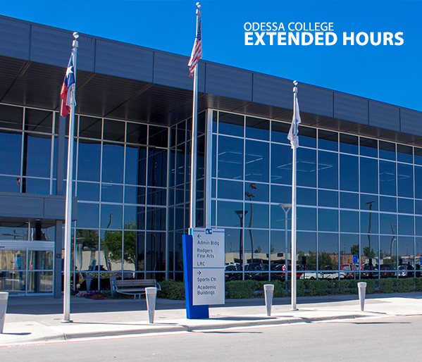 Odessa College to observe extended hours August 24