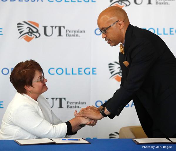 Odessa College & UTPB sign Pathways Transfer Agreement