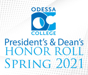 President's and Dean's Honor Roll - Spring 2021