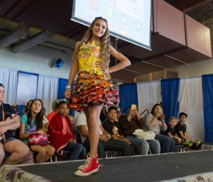 Recycle Fashion Show - OC at the PB Fair