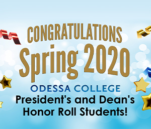 Spring 2020 President's and Dean's Honor Roll