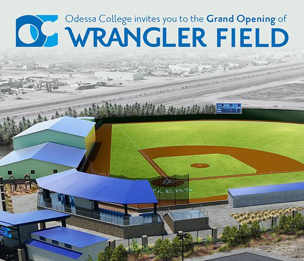 Wrangler Field Grand Opening