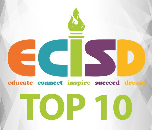 ECISD Top 10 - Congratulations!