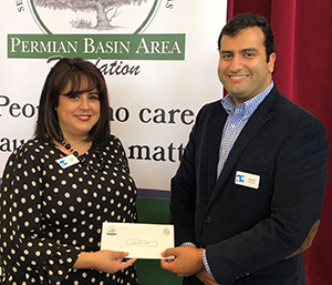 $50,000 Donation from The Permian Basin Area Foundation