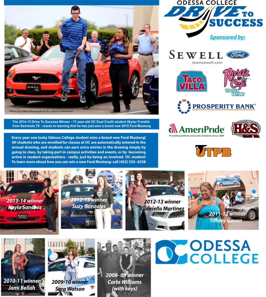 Ford Odessa Tx >> Odessa College - Drive to Success