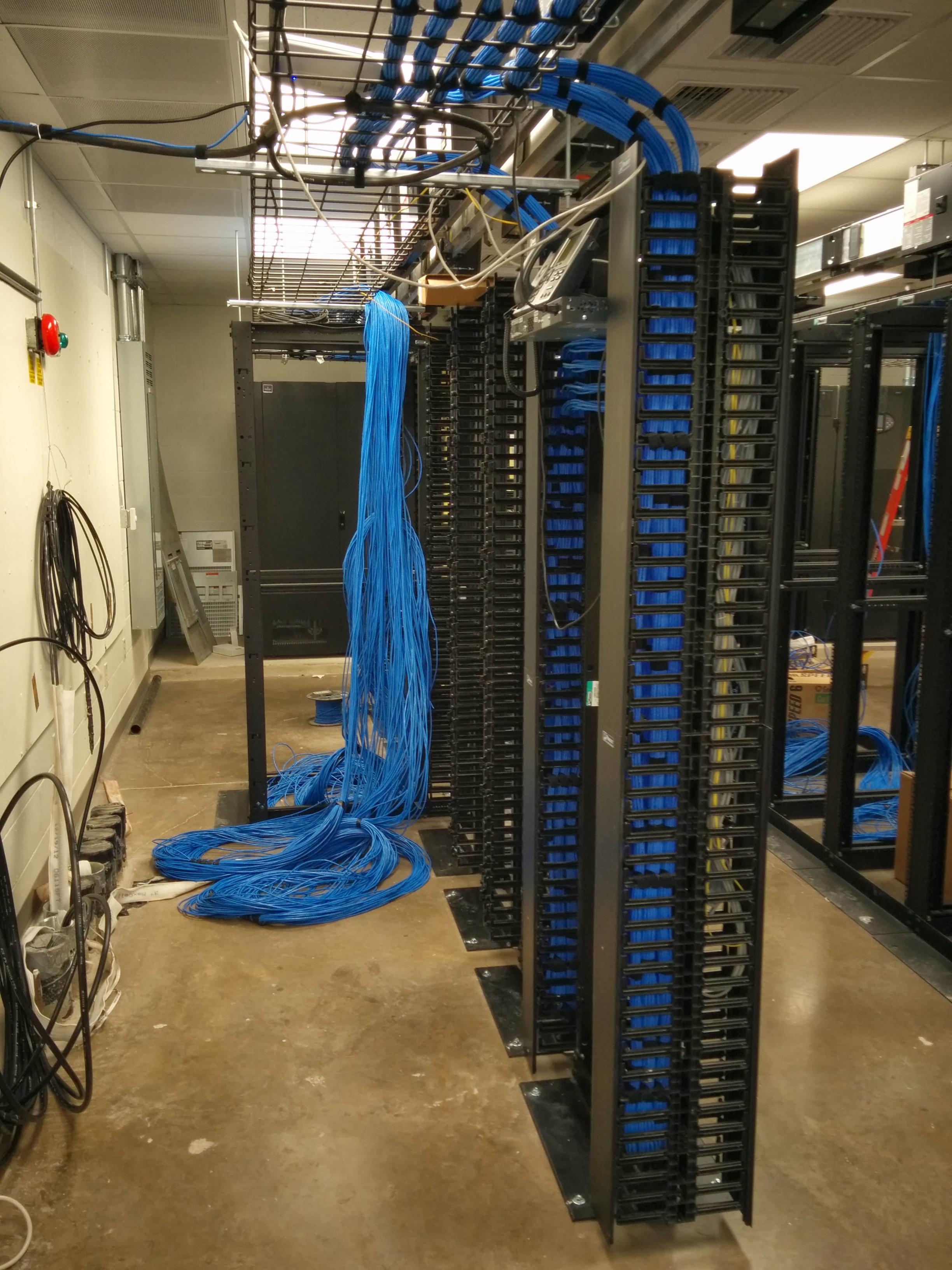 Odessa College New Data Center Wiring 3